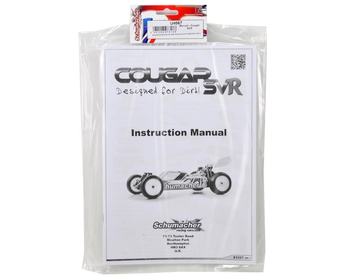 Cougar SVR Manual by Schumacher