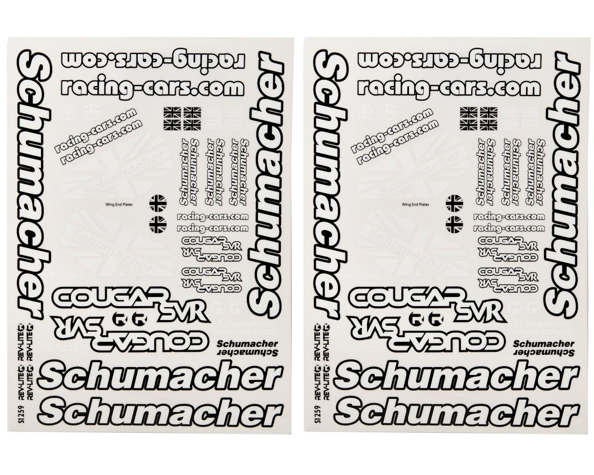 Cougar SVR Decal Sheet (2) by Schumacher