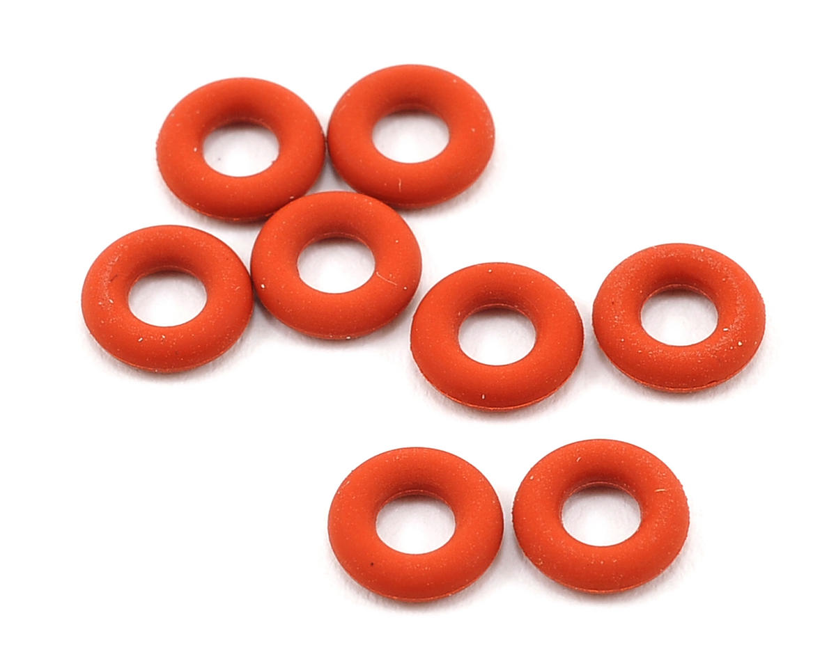 Schumacher 1/8 Silicone Off Road Shock O-Ring Set (8)