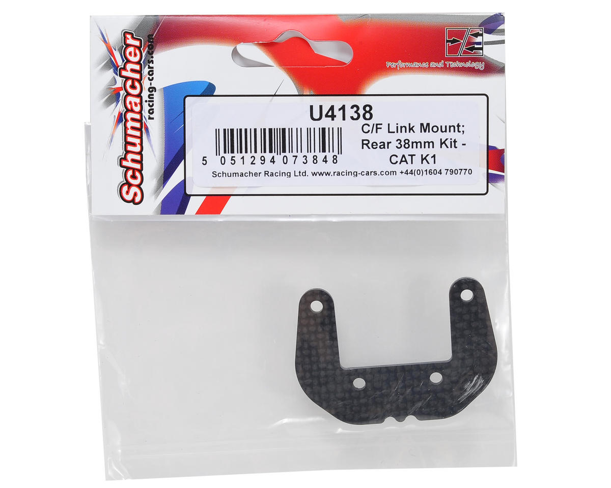 38mm Carbon Rear Link Mount by Schumacher