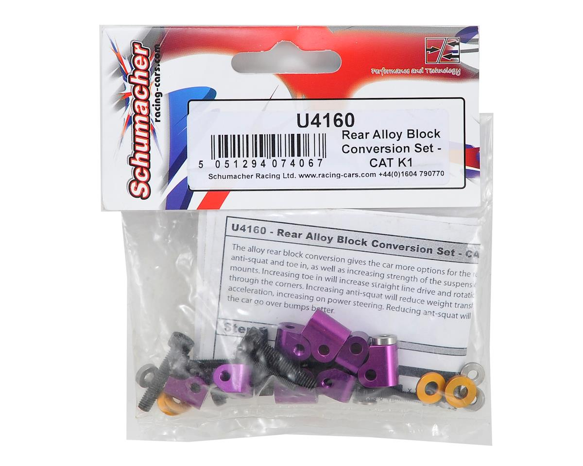 Schumacher Rear Alloy Block Conversion Set