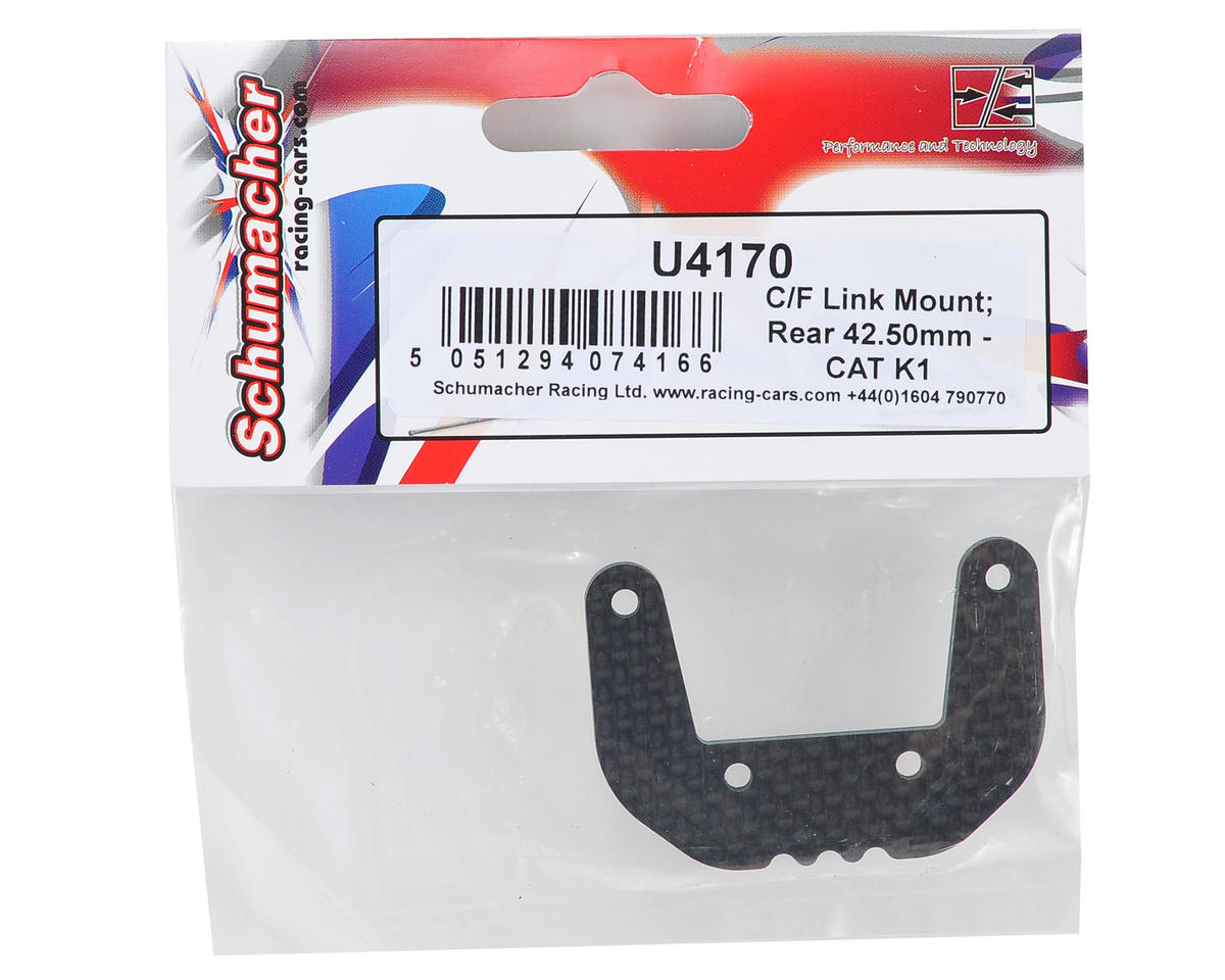 Schumacher 42.5mm Carbon Rear Camber Link Mount Set