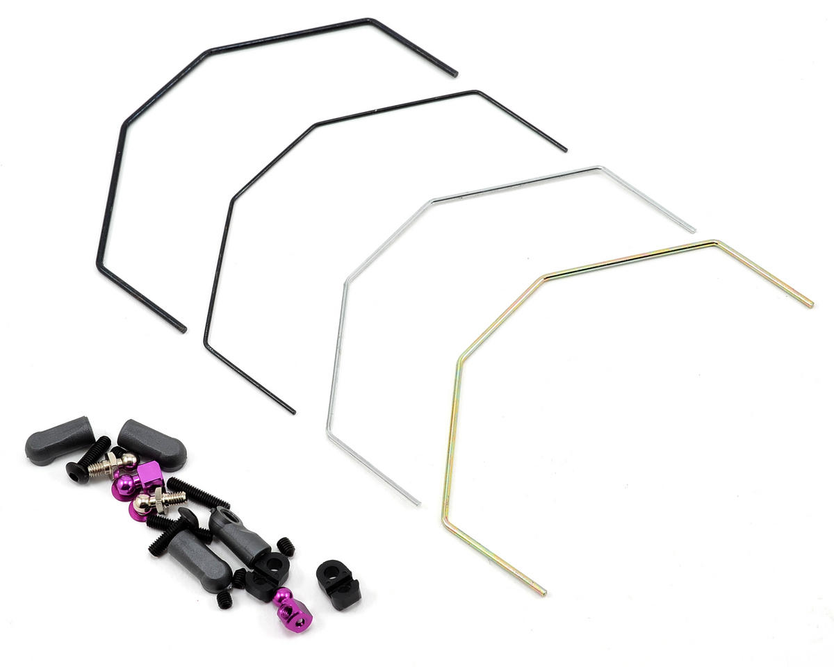 Schumacher CAT K1 Aero Rear Roll Bar Set (4)