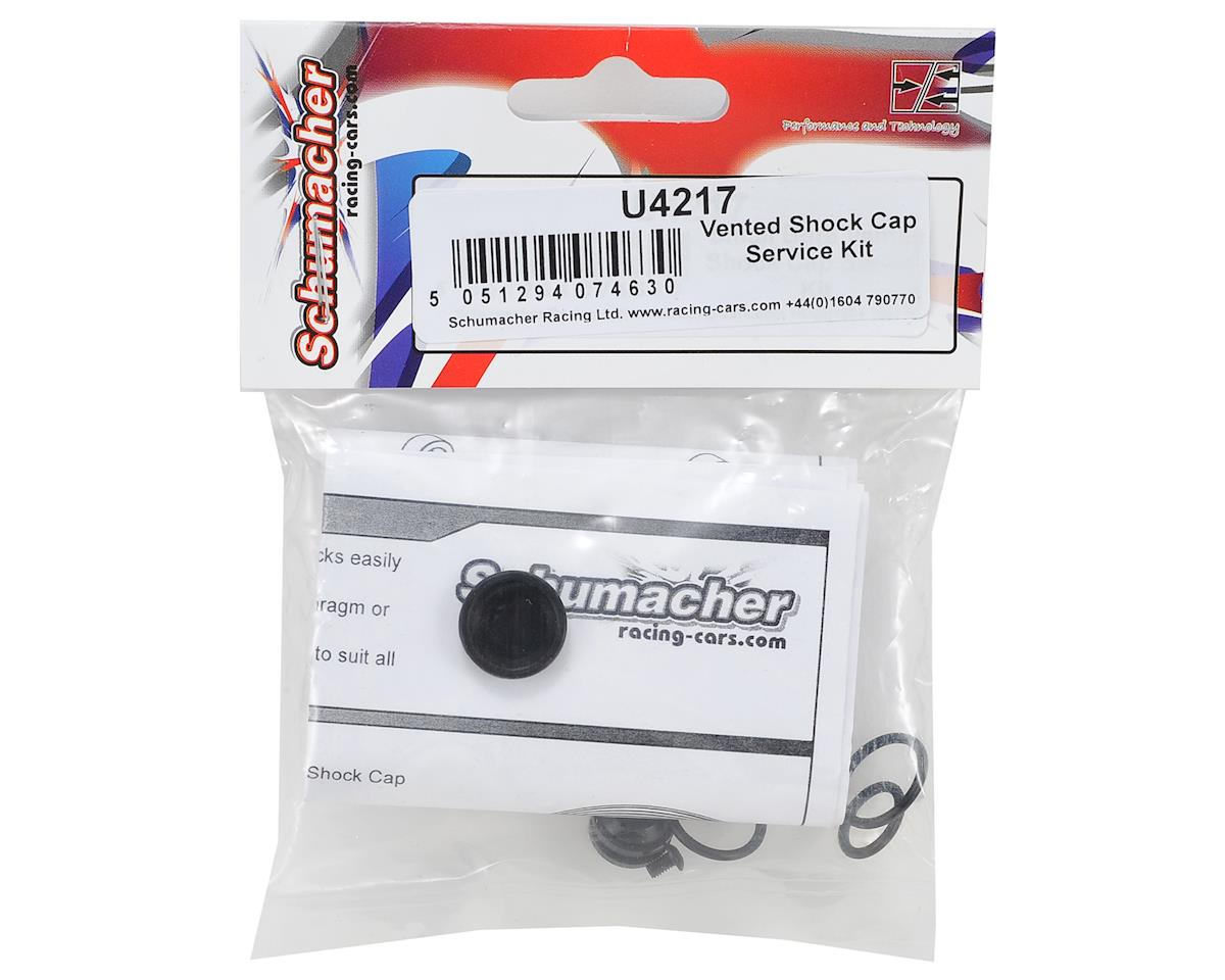 Schumacher Vented Shock Cap Service Kit