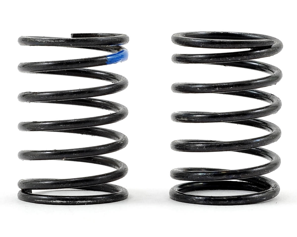 Shock Spring Set (15lb/in - Blue) (2) by Schumacher
