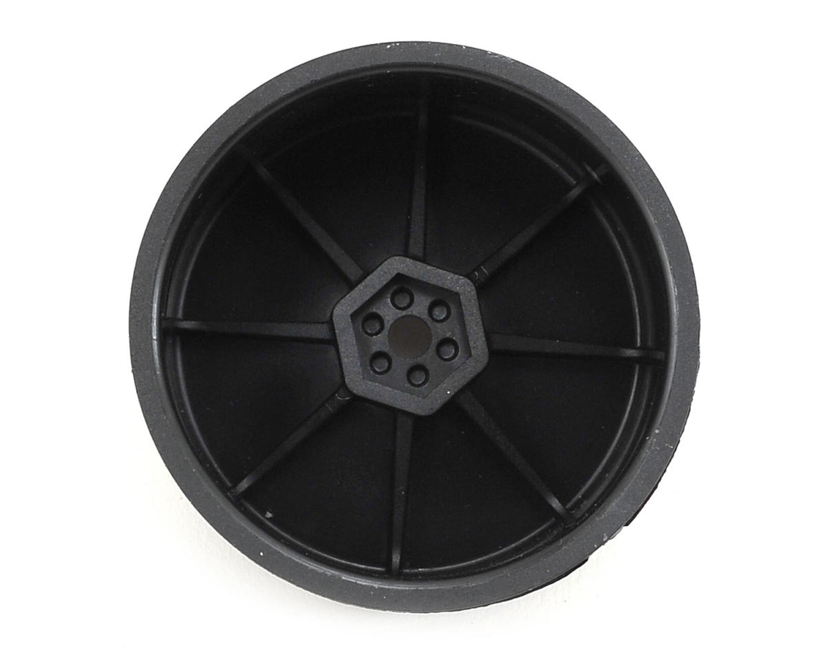 Schumacher 12mm 1/10 Buggy Rear Hex Wheels (Black) (2)