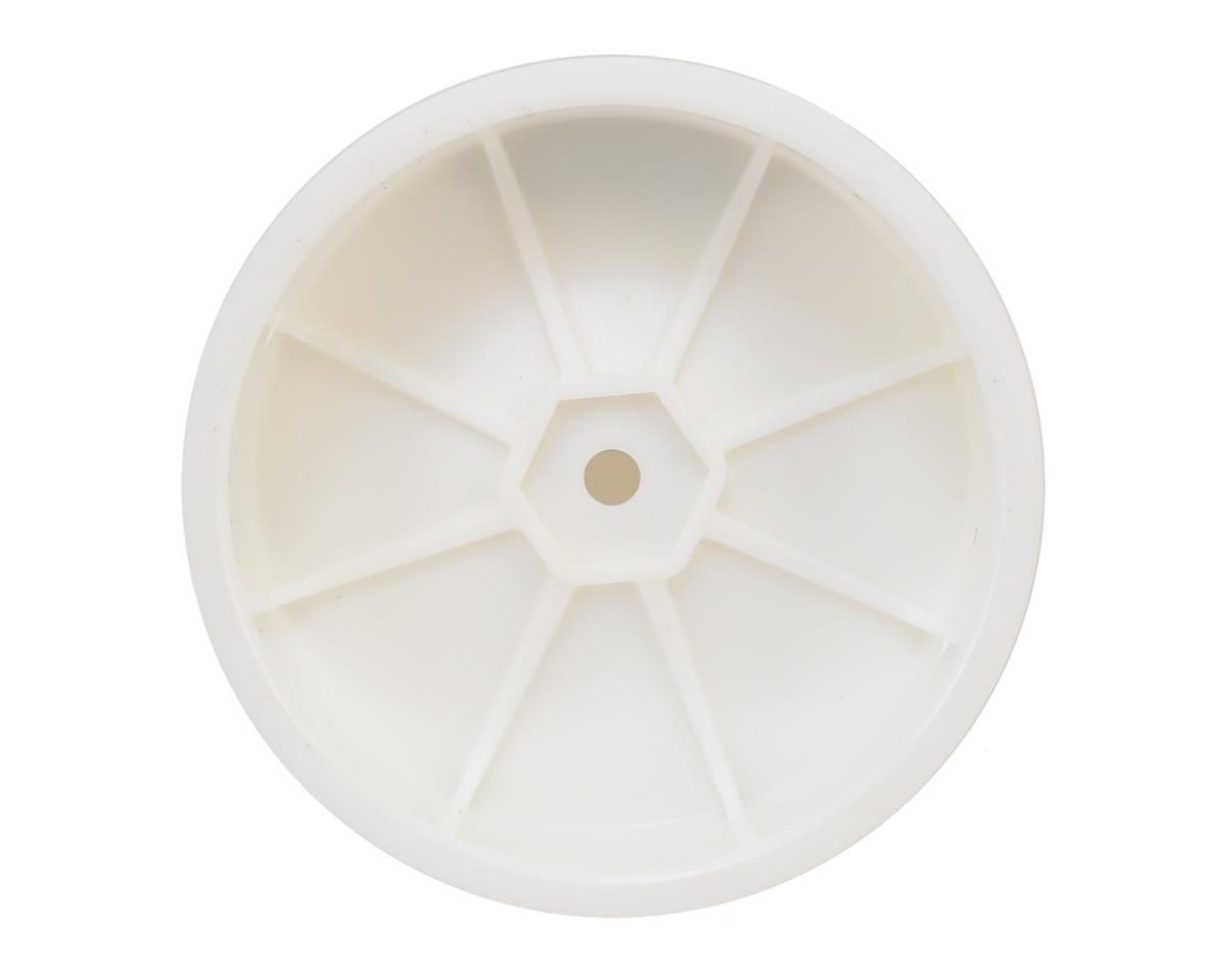 Schumacher  12mm Hex 1/10 2WD Front Buggy Wheel (White) (2)
