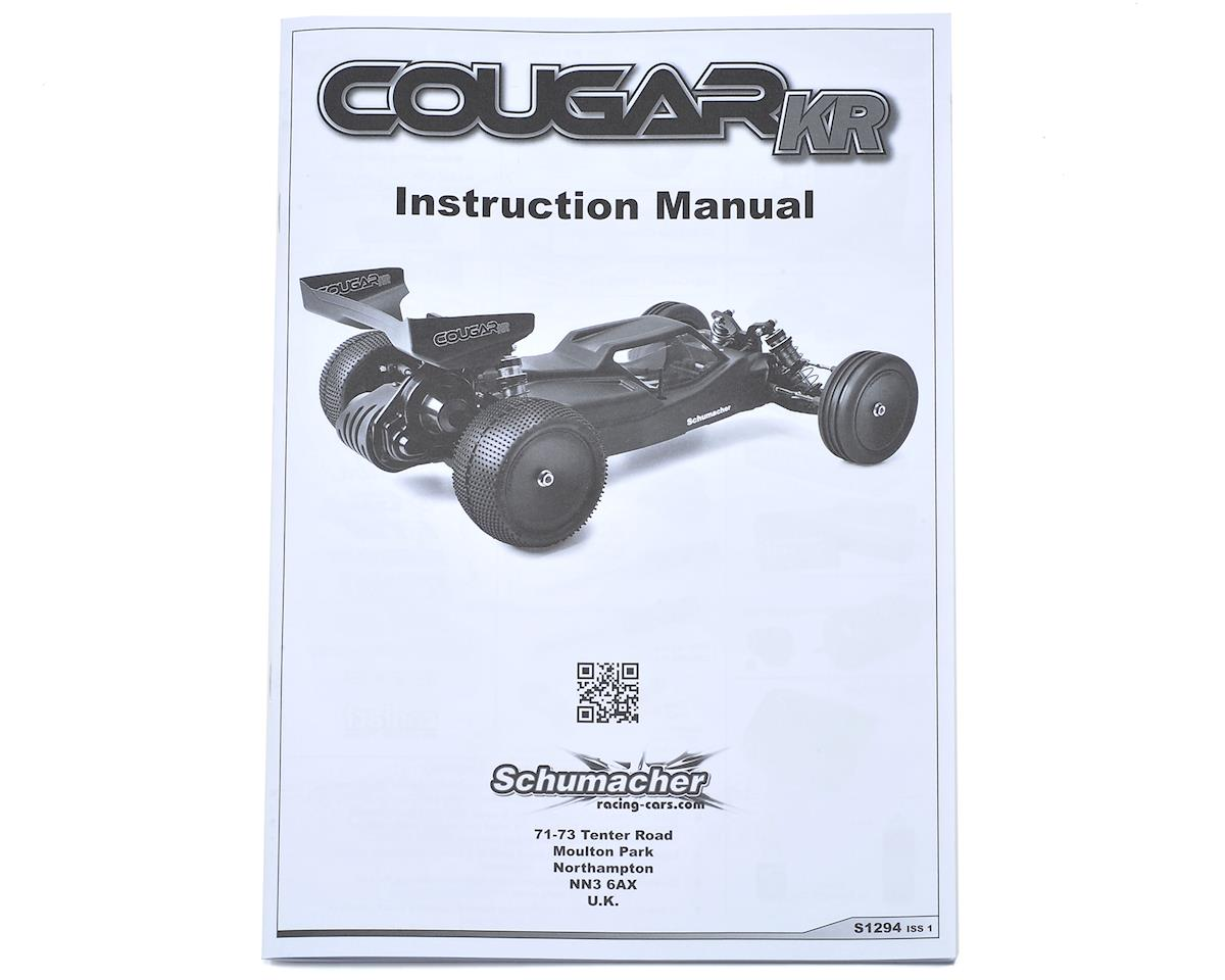 Schumacher Cougar KR Instruction Manual