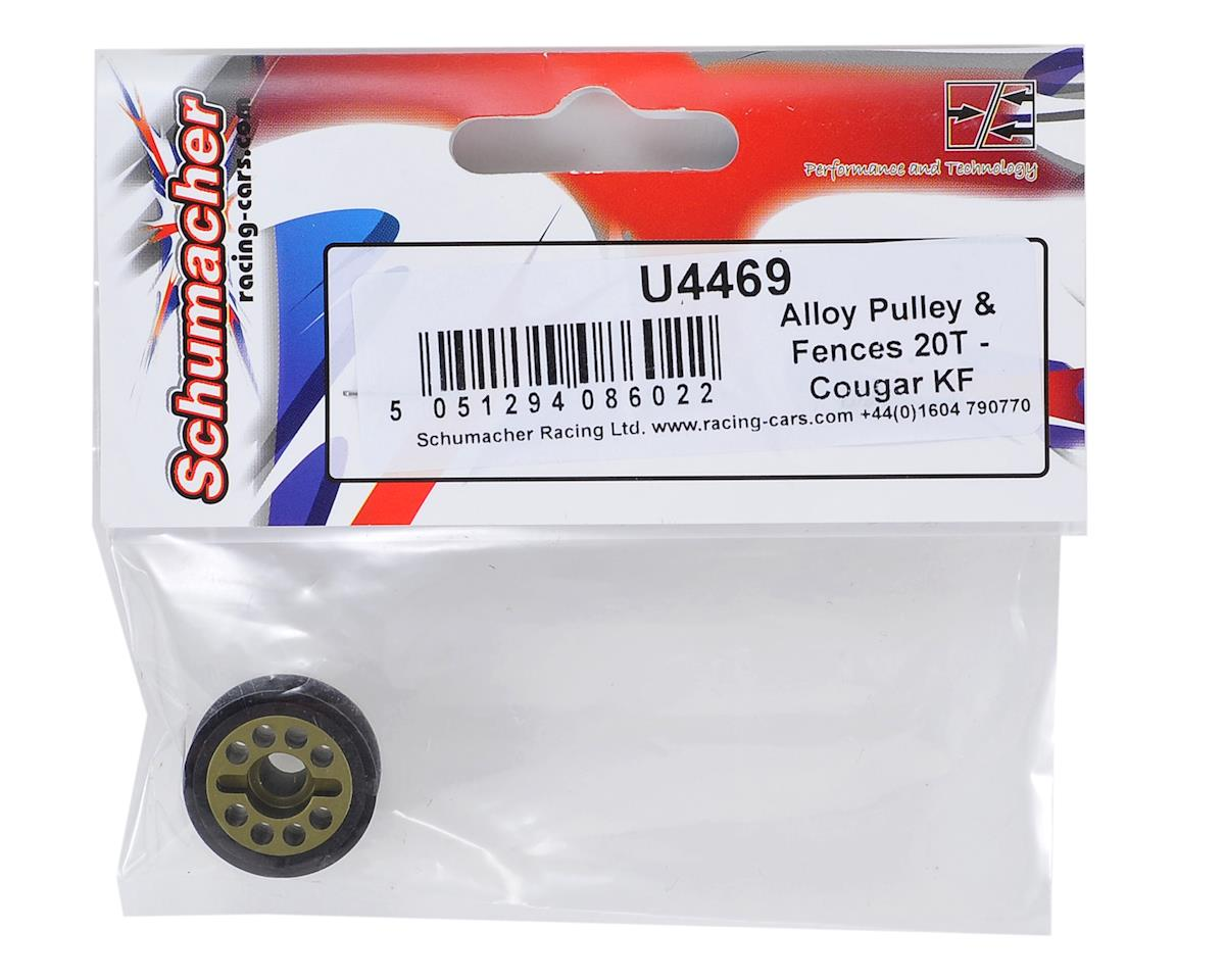 Alloy Pulley & Fence Set (20T) by Schumacher