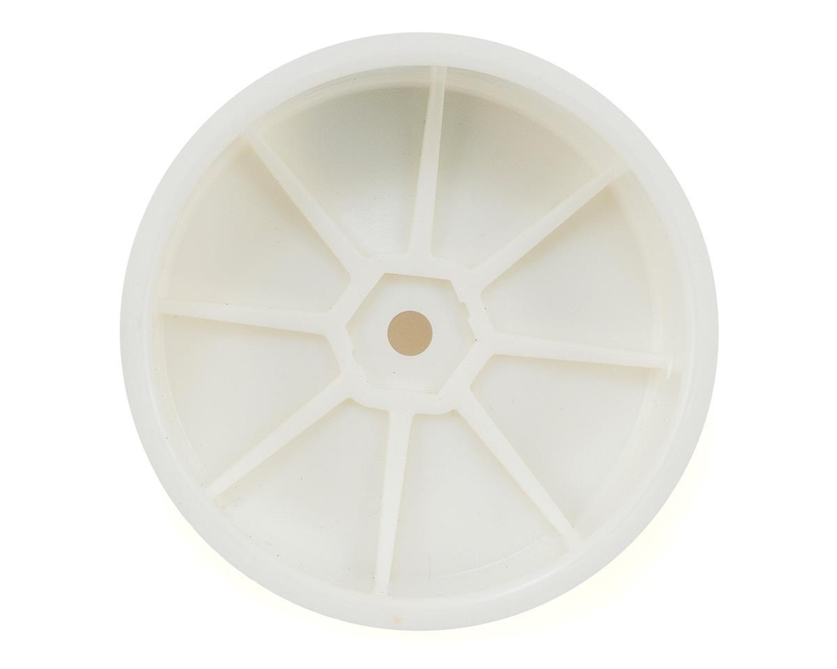 Schumacher 12mm 1/10 4WD Buggy Front Hex Wheels (White) (2)