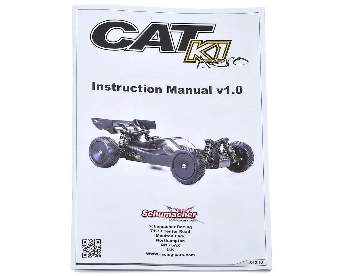 Schumacher Cat K1 Aero Instruction Manual