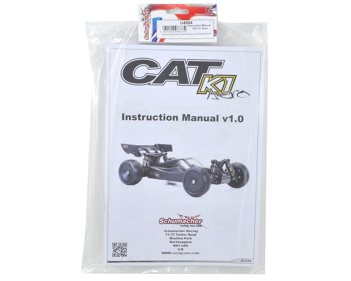Cat K1 Aero Instruction Manual by Schumacher