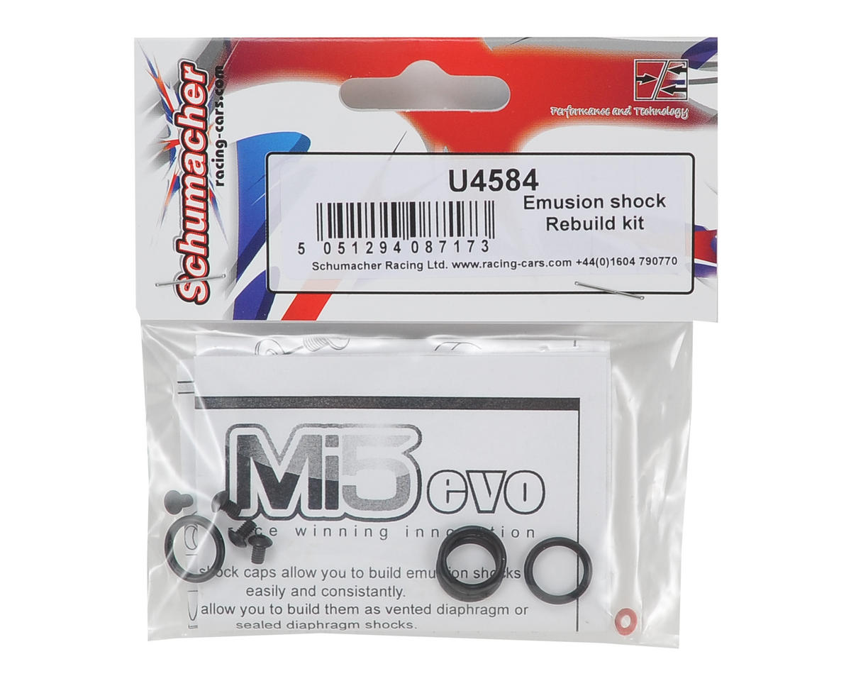 Schumacher Emulsion Shock Rebuild Kit (4)