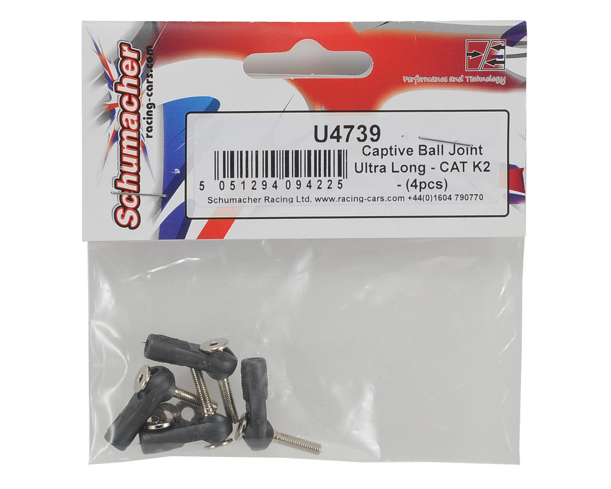 Schumacher Ultra Long Captive Ball Joint (4)