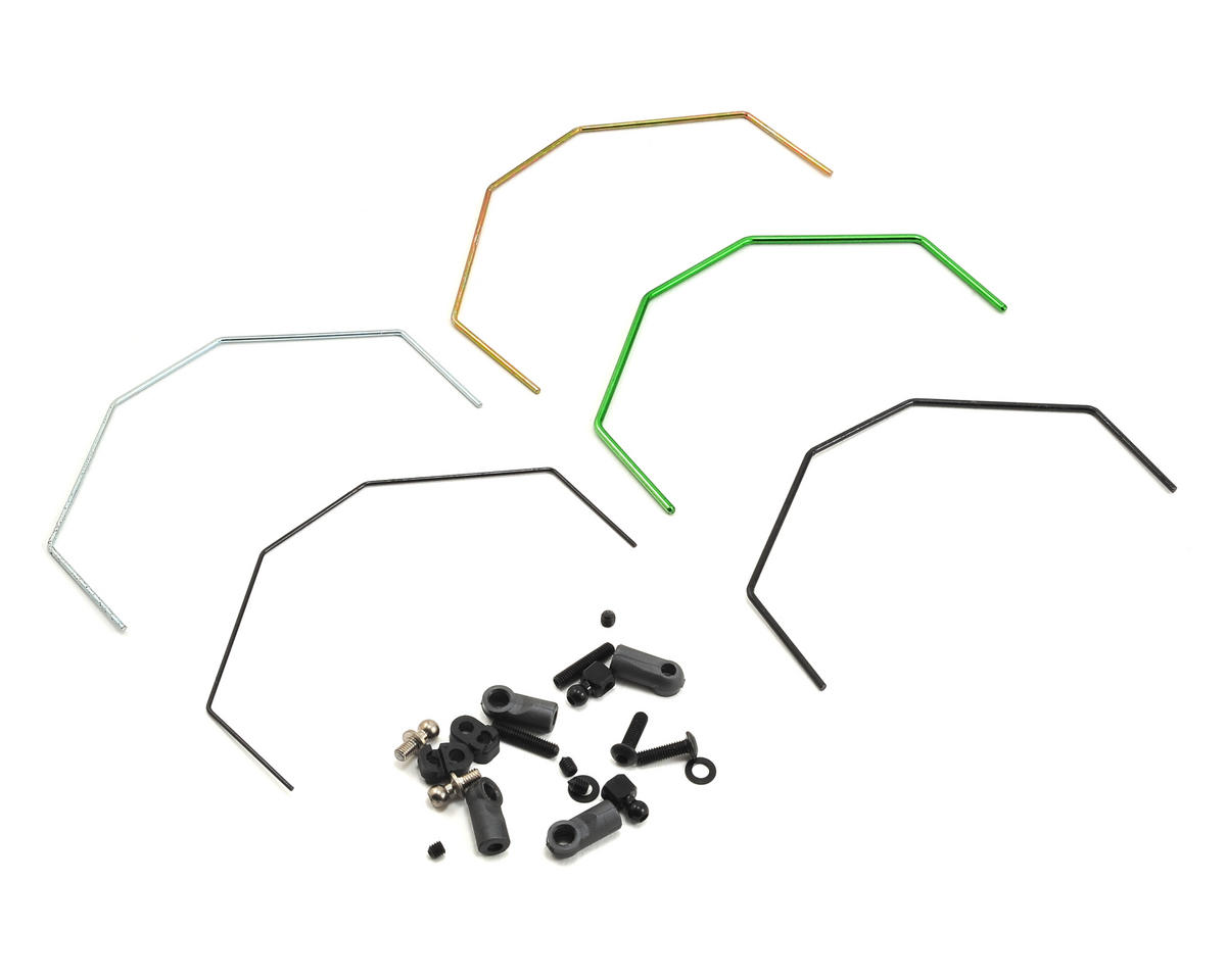 Cat K2 Rear Roll Bar Set by Schumacher
