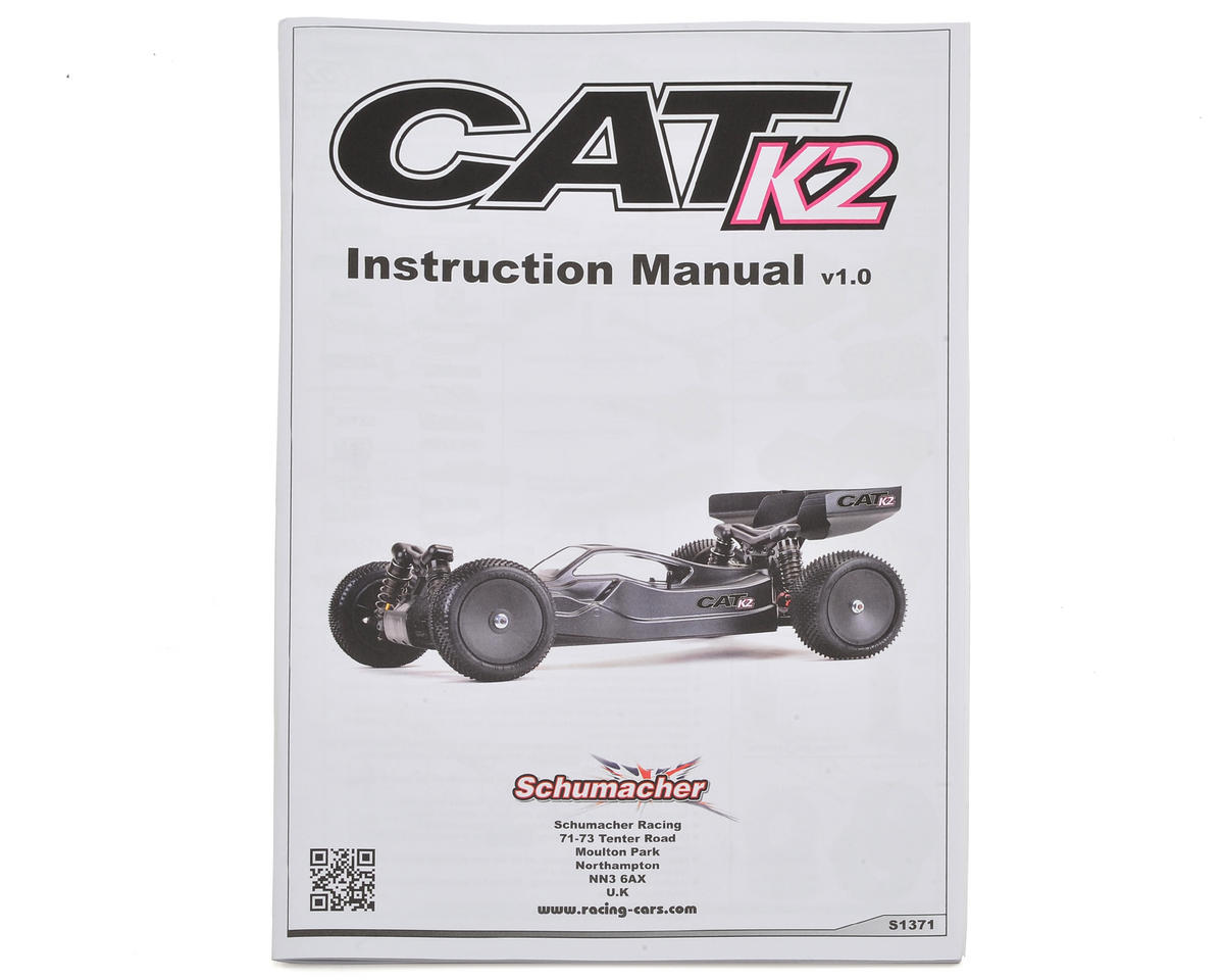 Schumacher CAT K2 Instruction Manual