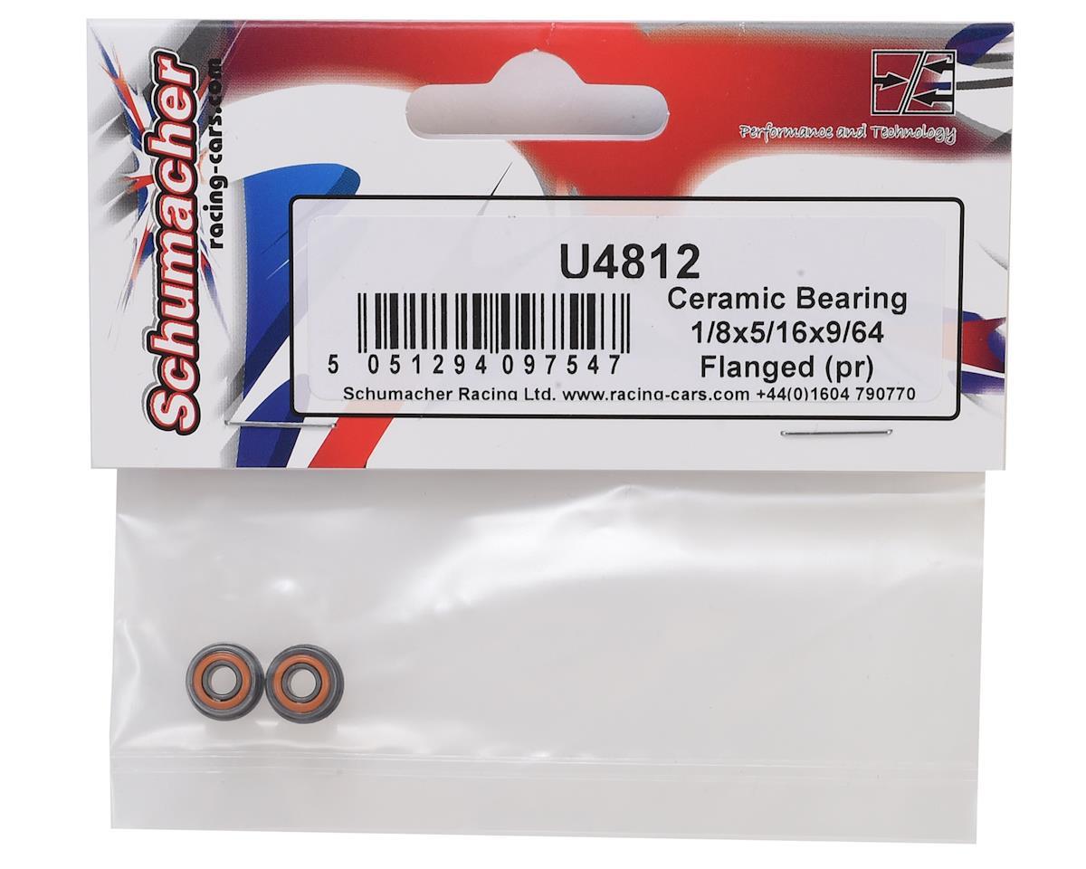 "Schumacher 1/8x5/16x9/64"" Flanged Ceramic Bearing (2)"