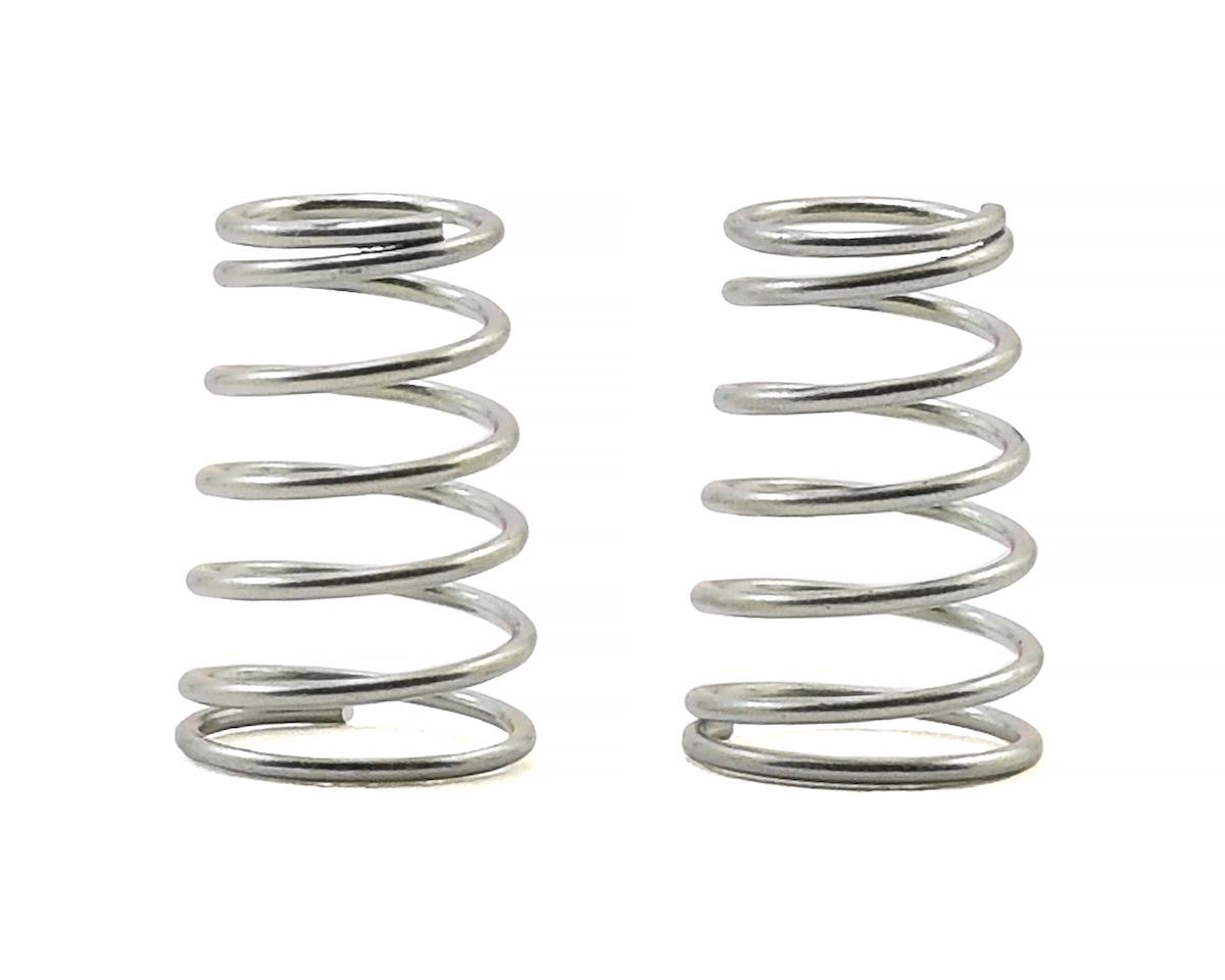 Schumacher Atom/Eclipse Rear Shock Springs (2) (Silver - Med/Soft)