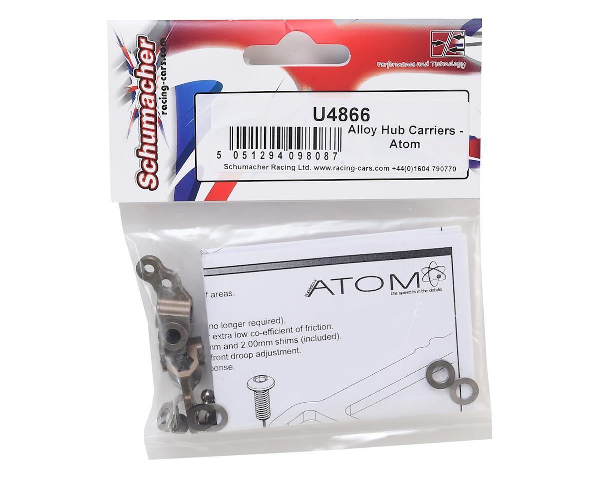 Schumacher Atom Alloy Hub Carriers