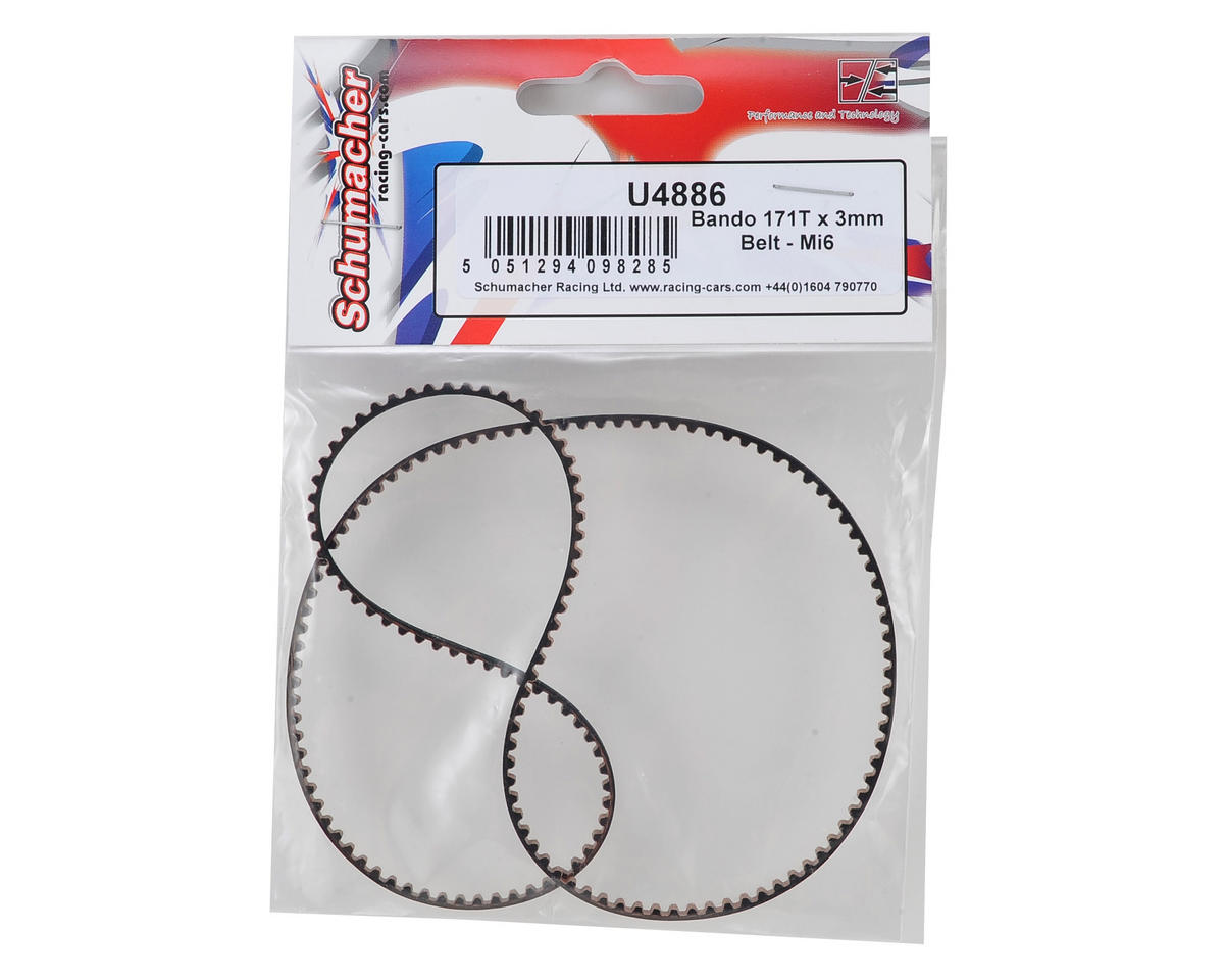 Schumacher 171T x 3mm Bando Belt