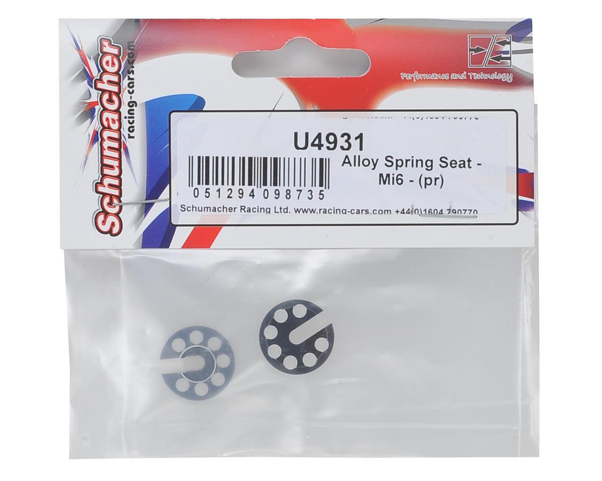 Schumacher Alloy Shock Spring Seat (2)