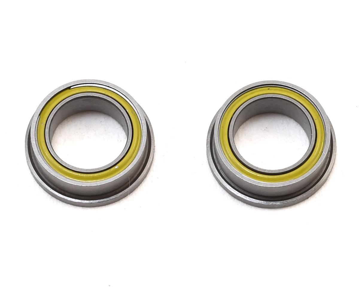 Schumacher 1/4x3/8x1/8 Flanged Yellow Ball Bearing (2)