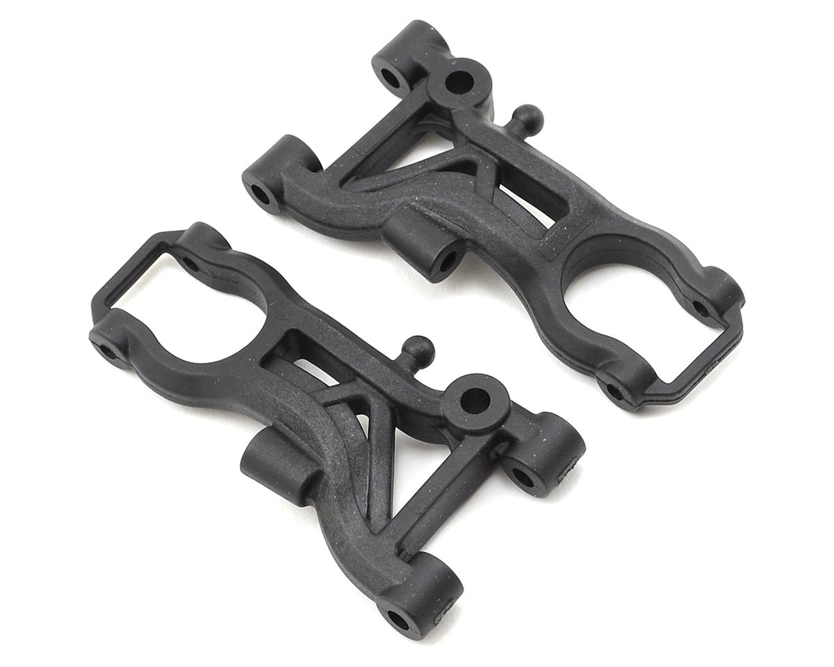 Mi6 Carbon Fiber Front Wishbones (2) by Schumacher