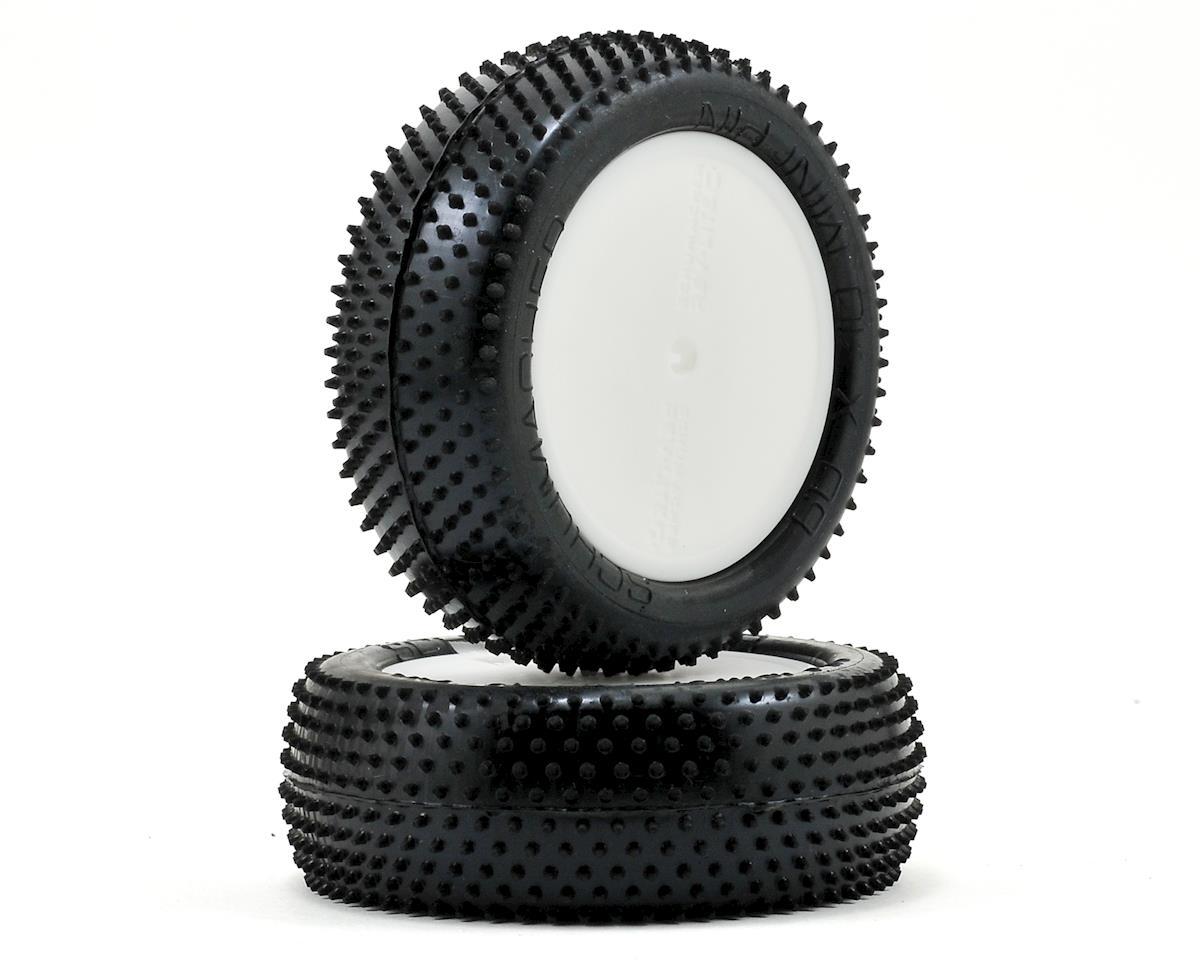 "Schumacher ""Mini Pin"" Premounted 2.2 1/10 Buggy Front Tires (2) (White)"