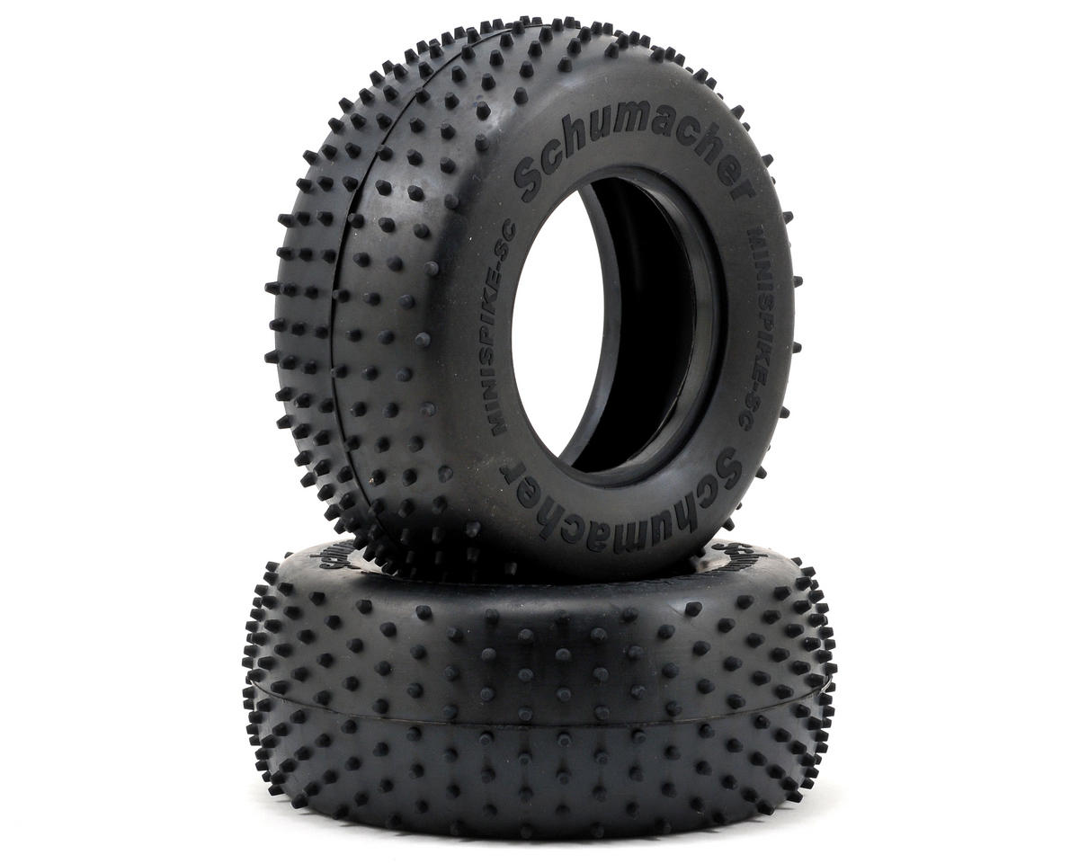 """Mini Spike"" Short Course Truck Tires (2) by Schumacher"