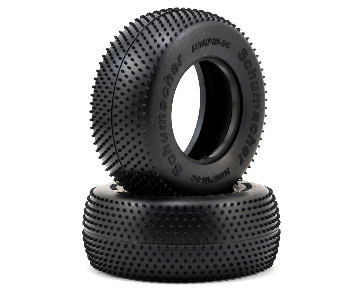 """Mini Pin"" Short Course Truck Tires (2) by Schumacher"