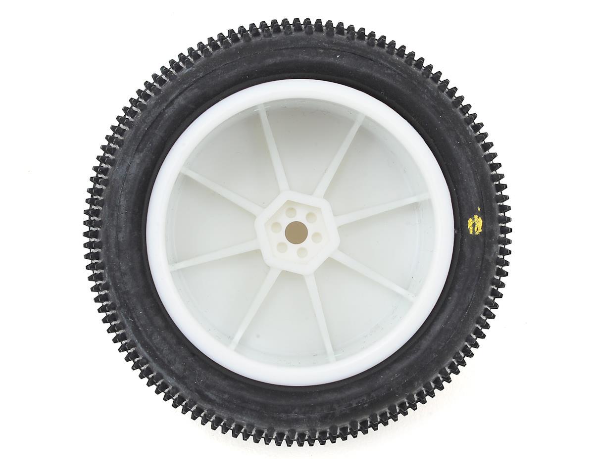 "Schumacher ""Mini Pin"" 2.2"" Rear Buggy Pre-Mounted Carpet Tires (Yellow)"