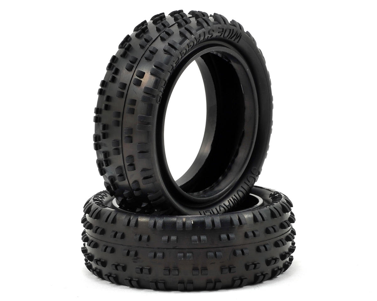 "Schumacher Wide ""Stagger Rib"" 2.2"" 1/10 4WD Buggy Front Tire (2)"