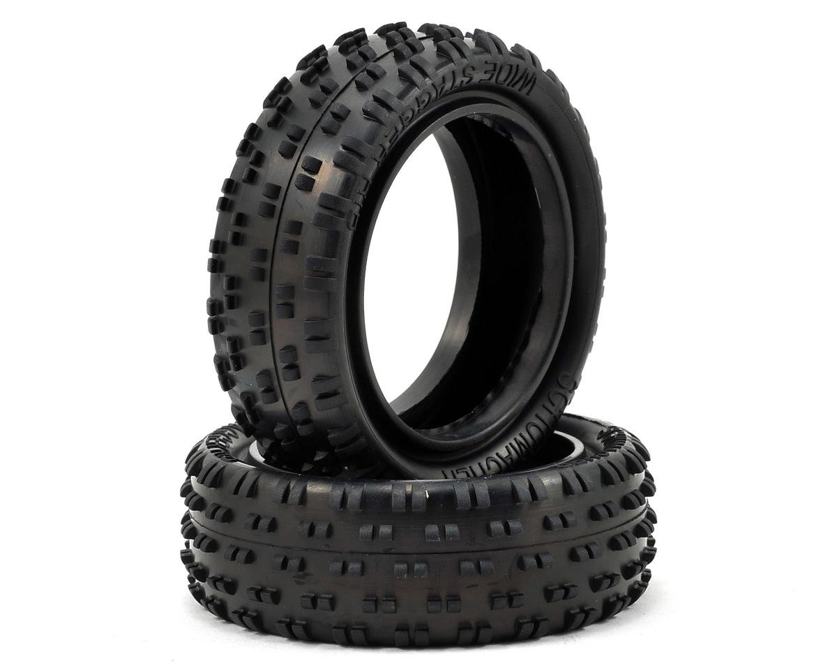 "Schumacher CAT K1 Aero Wide ""Stagger Rib"" 2.2"" 1/10 4WD Buggy Front Tire (2)"