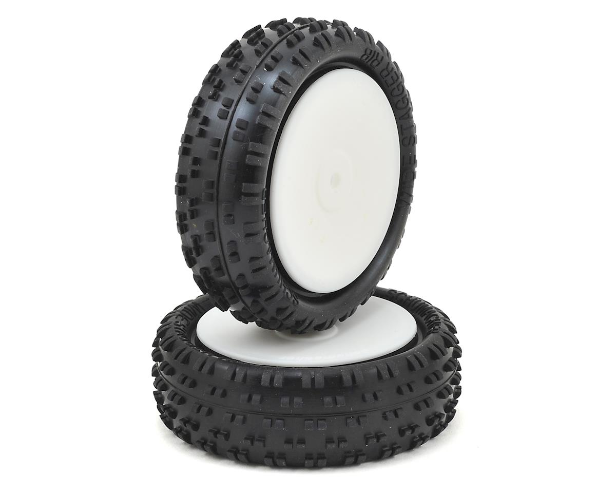 "Schumacher Wide ""Stagger Rib"" 2.2"" 1/10 4WD Front Buggy Tire (2)"