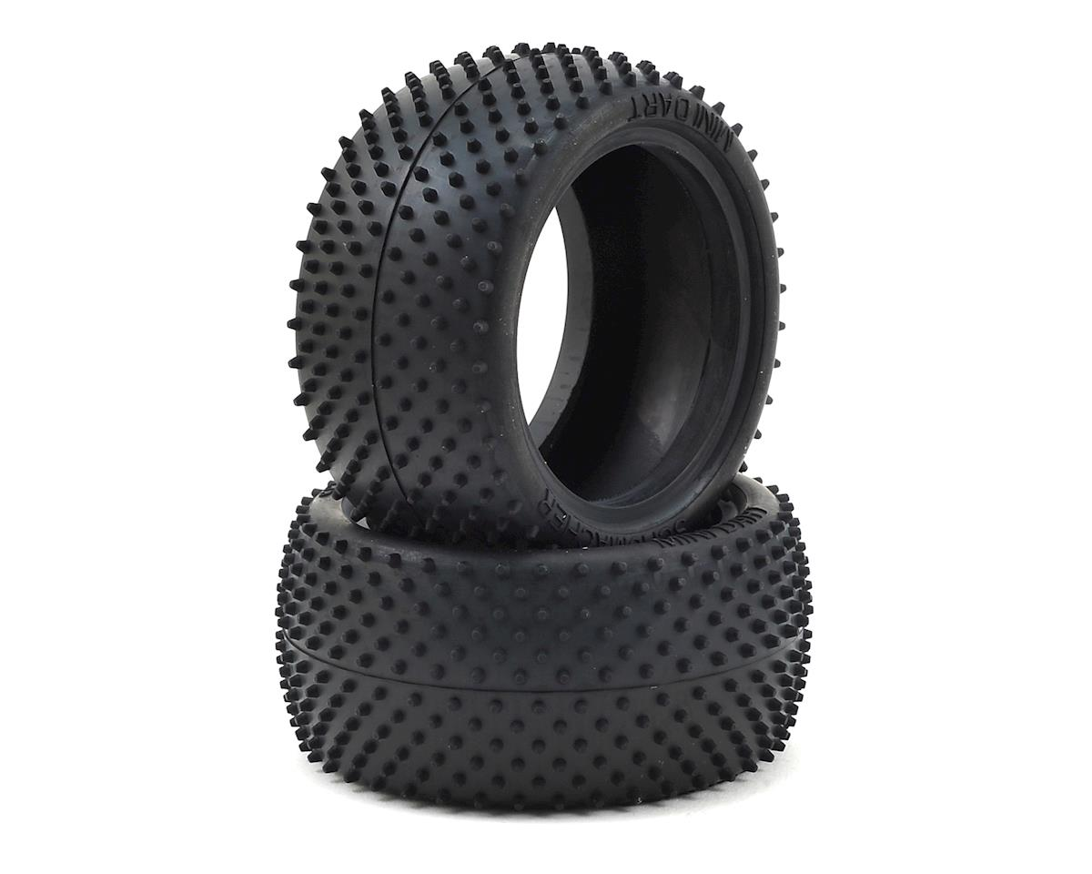 """Mini Dart"" 2.2"" Buggy Rear Carpet Tire (2) by Schumacher"