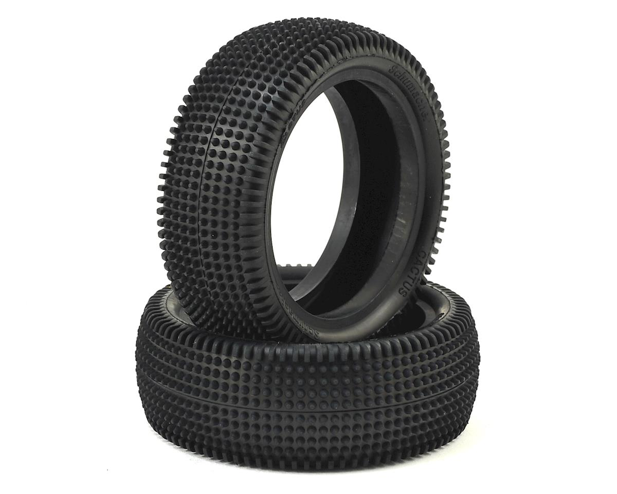 "Schumacher CAT K1 Aero Cactus 2.2"" Front 1/10 4wd Buggy Carpet Tire (2)"