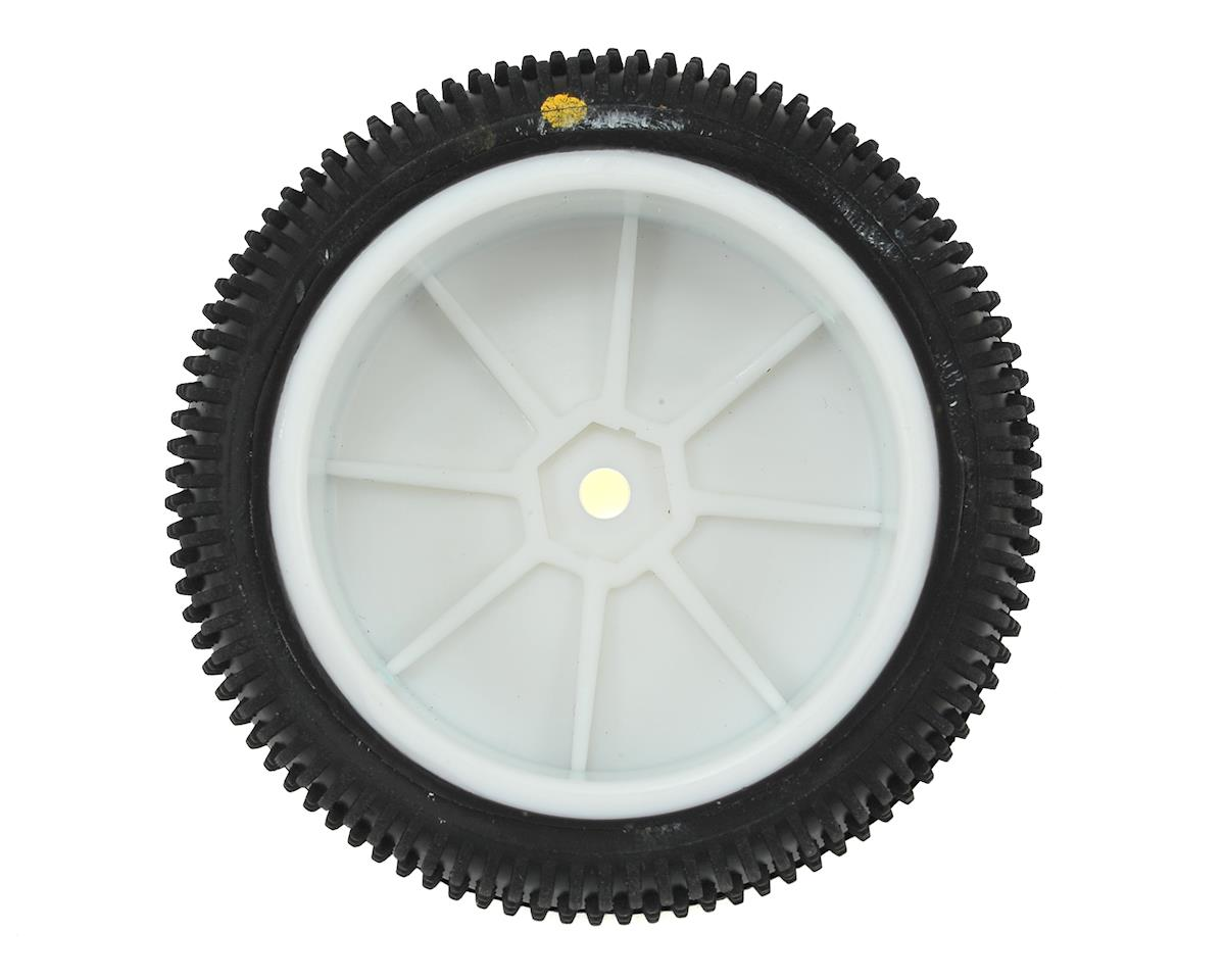 Schumacher Cactus 2.2 Front 1/10 4wd Buggy Pre-Mounted Carpet Tire (2) (Yellow)