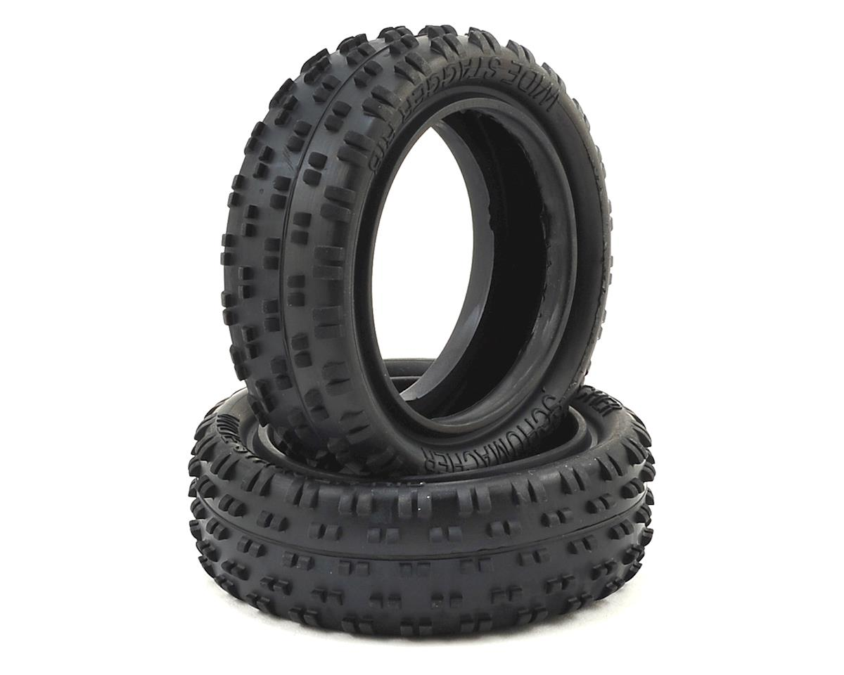 Schumacher Wide Stagger Rib 1/10 Carpet Tires