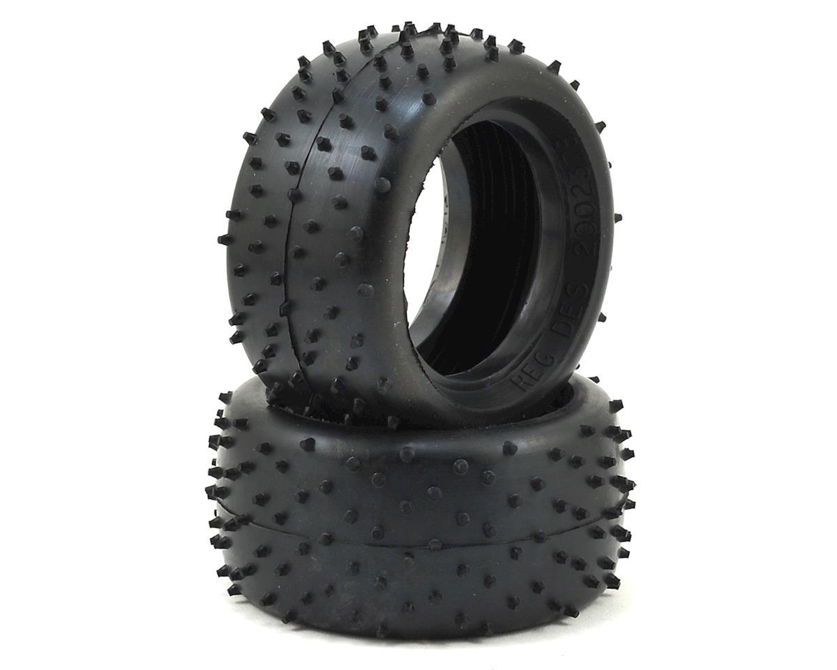 "Schumacher Mini Spike 2.0"" Rear 1/10 Buggy Tire (2) (Yellow)"