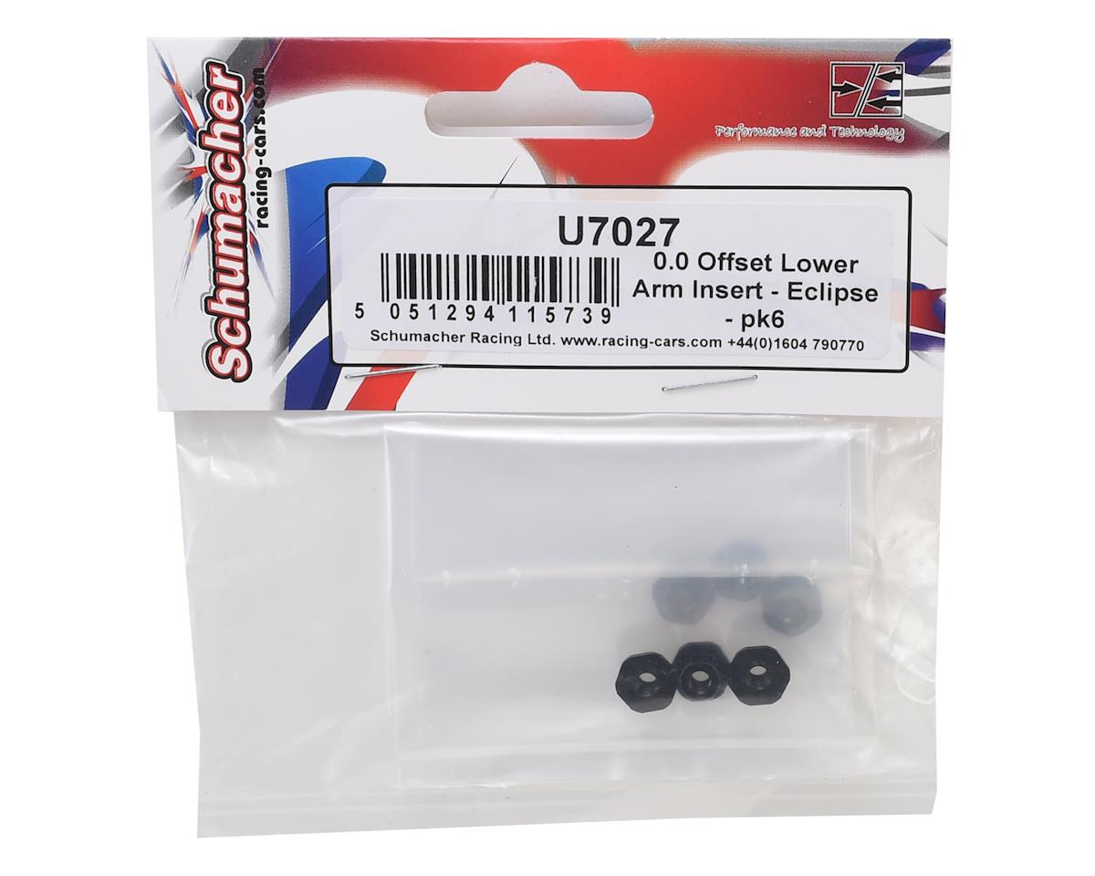 Schumacher 0.0mm Offset Eclipse Lower Arm Insert (6)