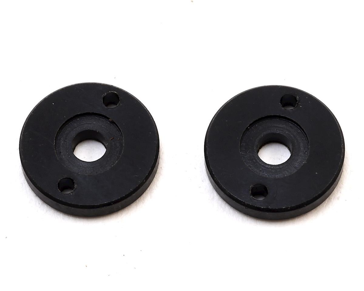Schumacher Big Bore Piston (Black) (2) (2 Hole x 1.60)