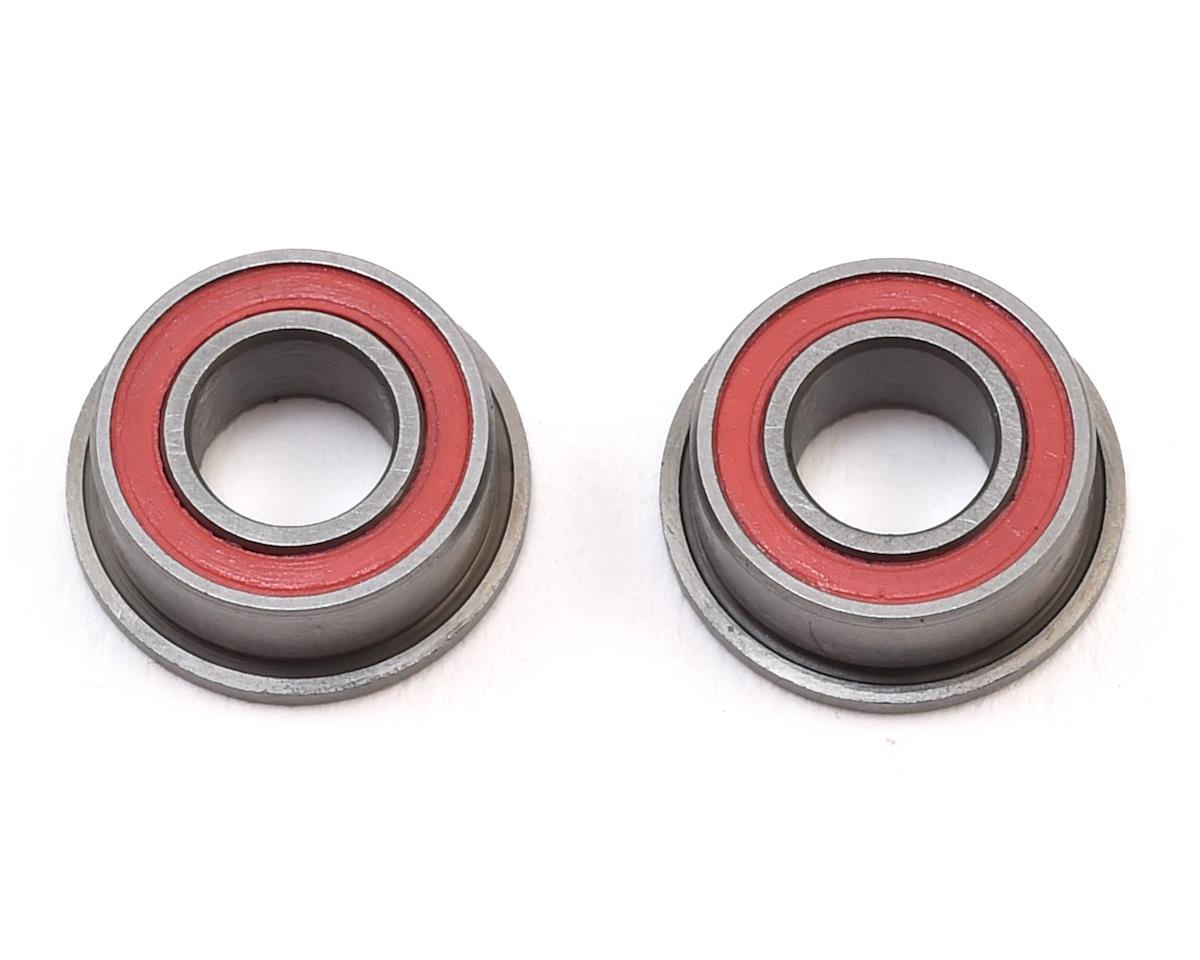 Schumacher 5x10x4mm Red Seal Flanged Ball Bearing (2)