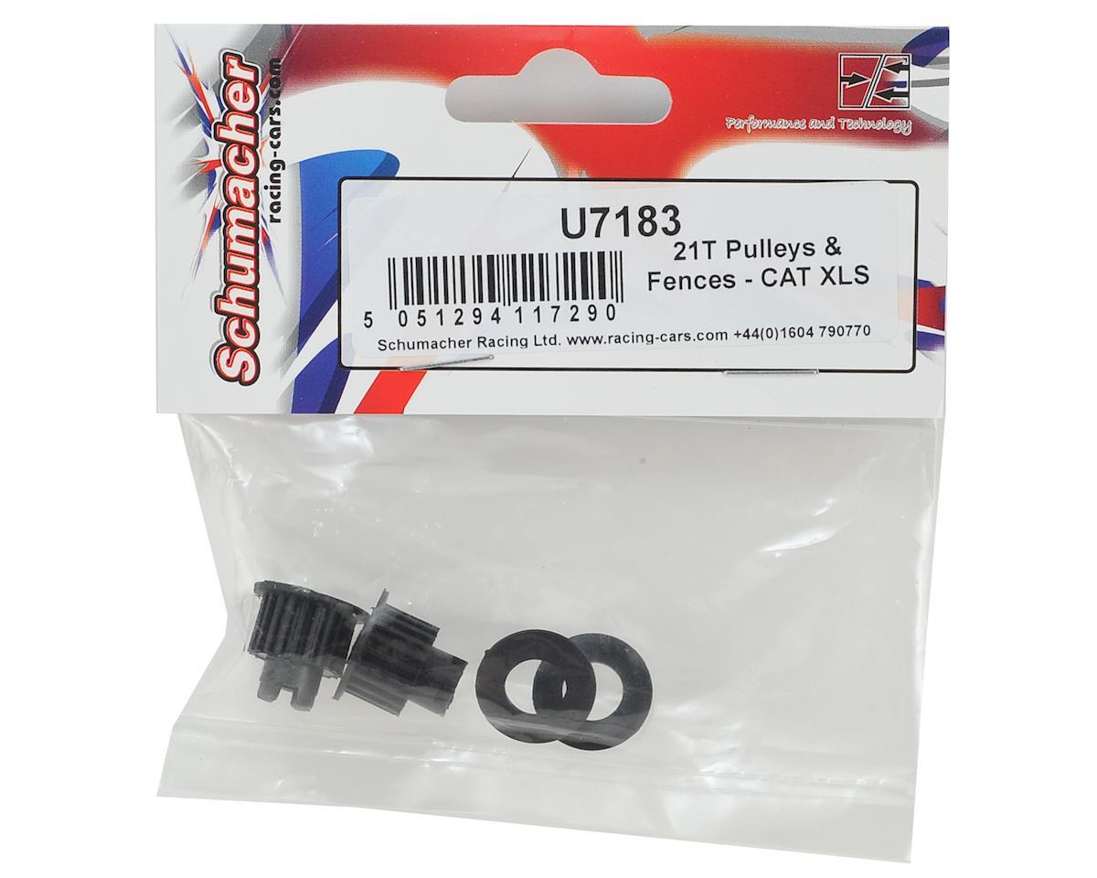CAT XLS 21T Pulleys & Fences by Schumacher