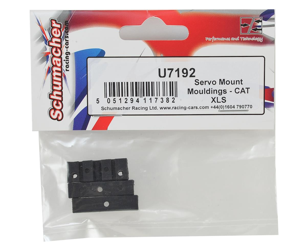 Schumacher CAT XLS Servo Mount Moldings