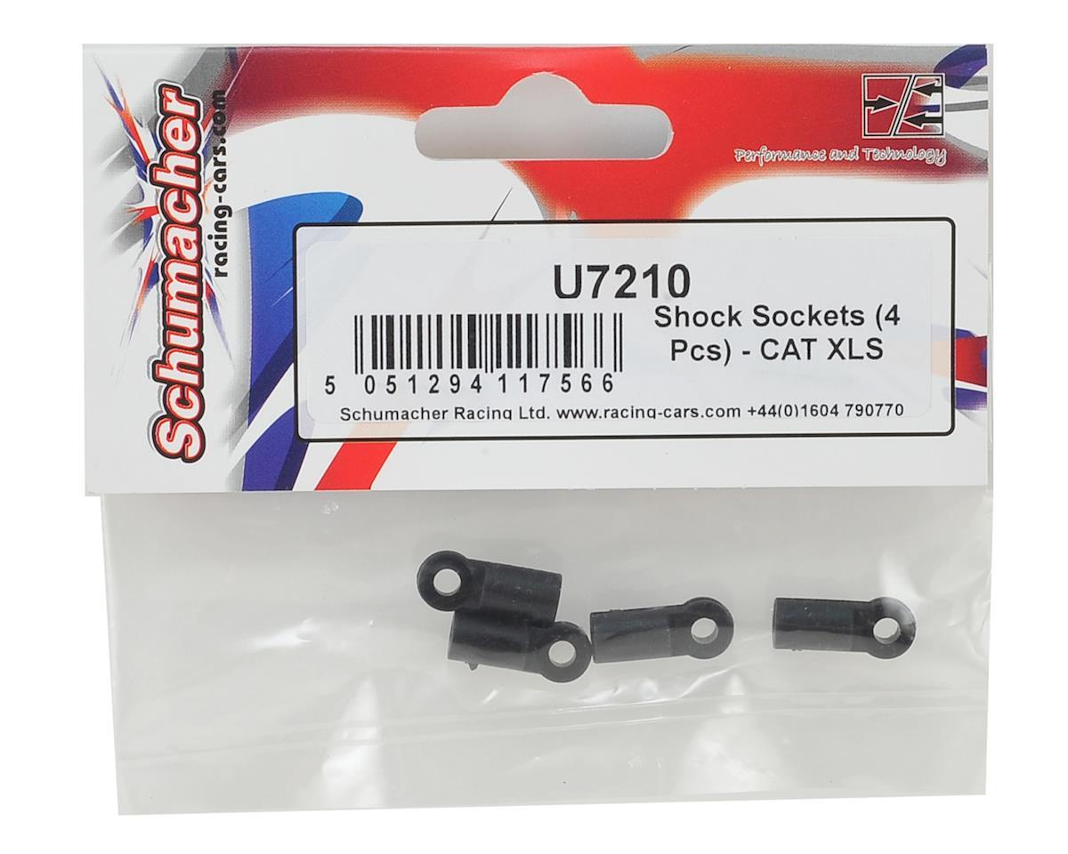 CAT XLS Shock Sockets (4) by Schumacher