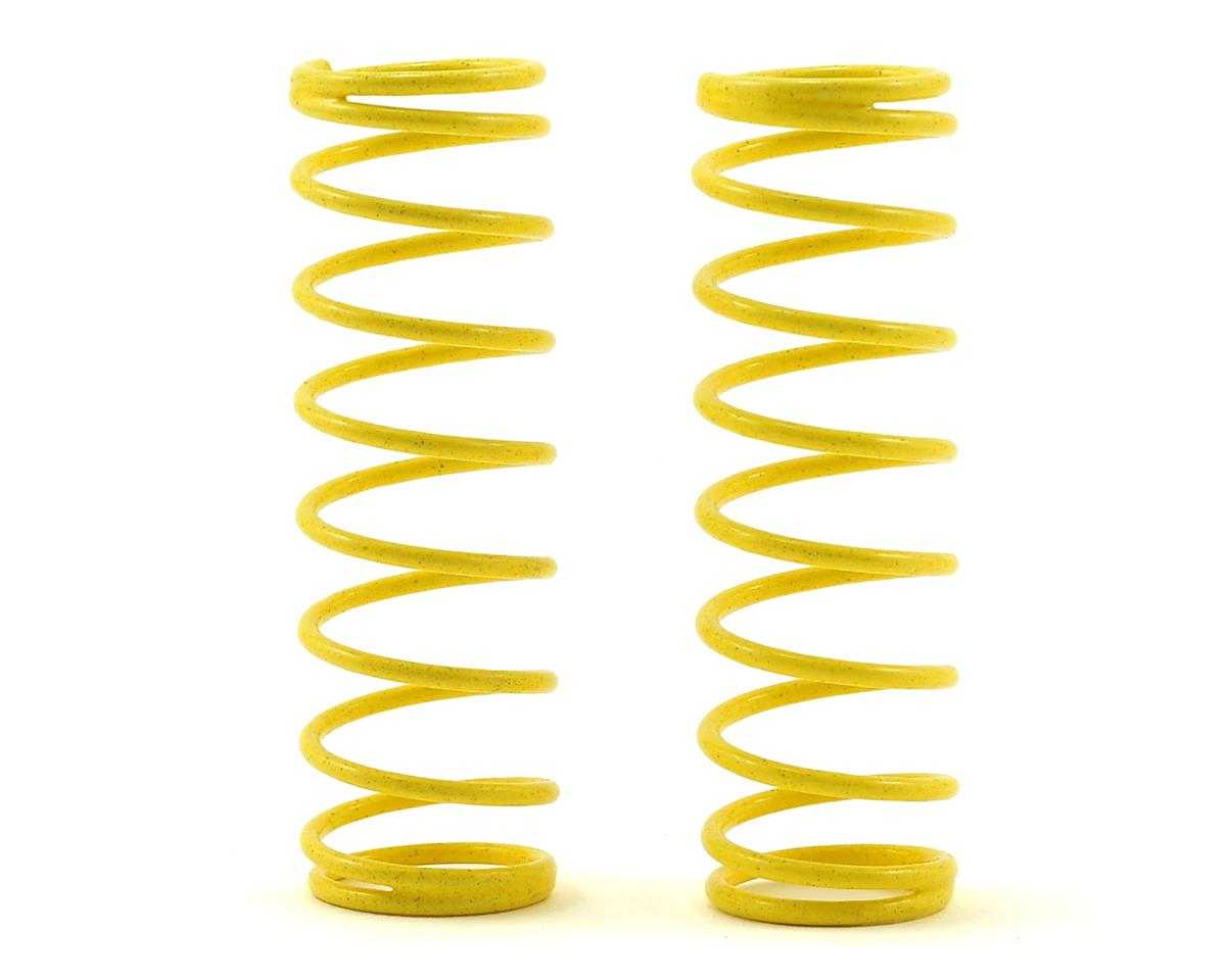 CAT XLS Front Shock Spring (2) (Yellow - Short 2lb) by Schumacher