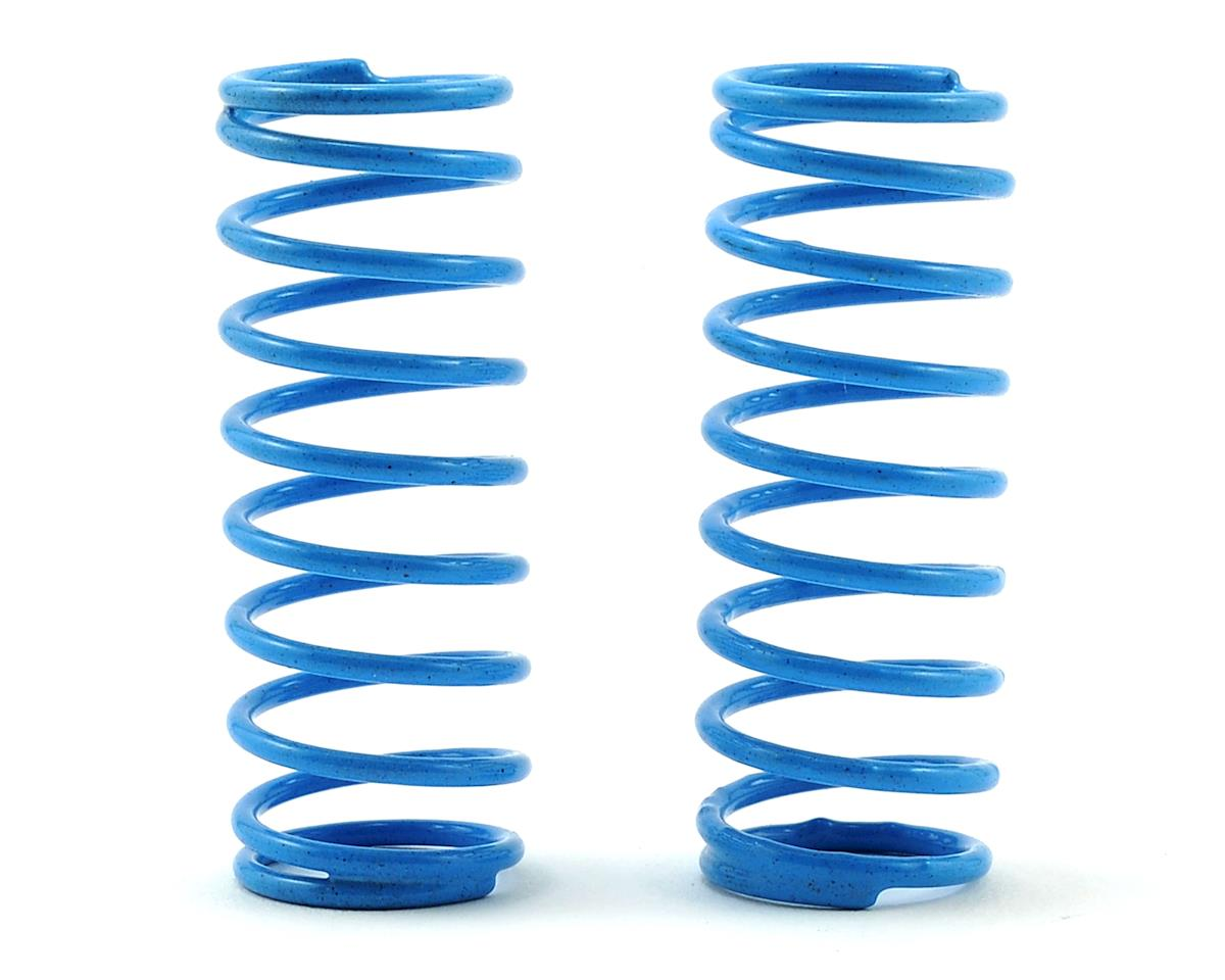 Schumacher CAT XLS Front Shock Spring (2) (Blue - Short 4lb)