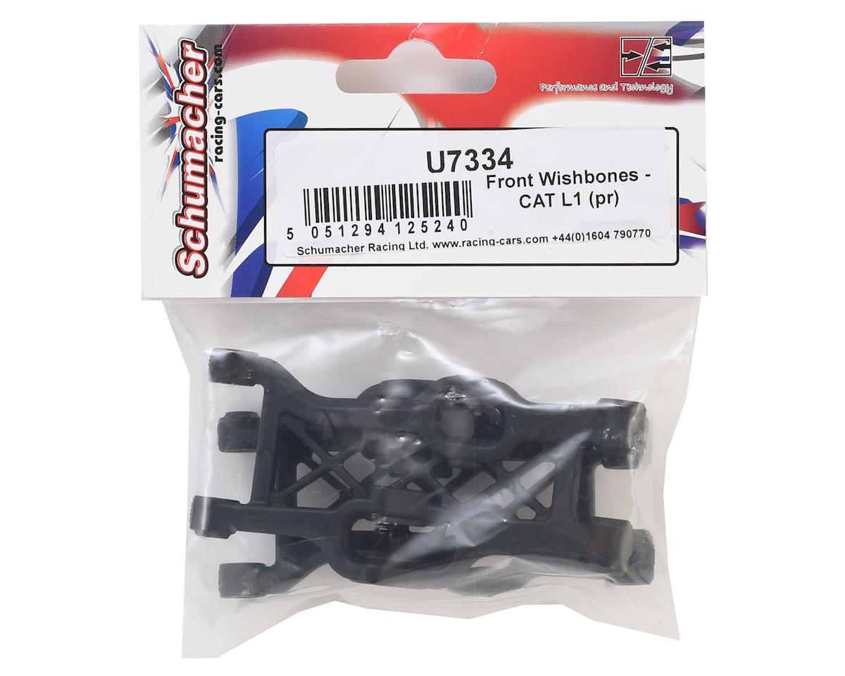 Schumacher CAT L1 Front Wishbones (2)