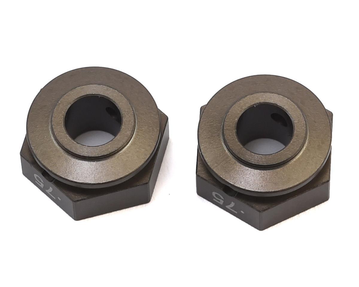 6.75mm Aluminum Alloy Wheel Hex (2) (+0.75mm) by Schumacher