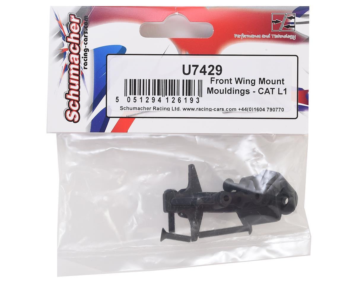 Schumacher CAT L1 Front Wing Mount Molding Set